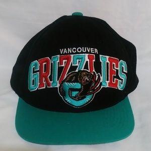 NBA Vancouver Grizzlies Snapback Hat Cap VTG